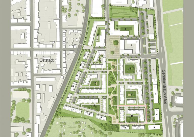 Lageplan Hildesheim